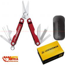 Мультитул LEATHERMAN MICRA-RED AL 64330181N