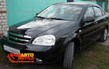 Дефлекторы окон AutoClover CHEVROLET LACETTI SED 2004