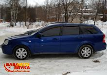 Дефлекторы окон AutoClover LACETTI 2004 WAGON AC A129