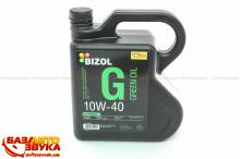 Моторное масло BIZOL Green Oil 10W-40 4л B81026