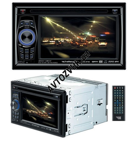 2-Din Challenger DVA-9758 (Usb,Dvd,Touch Screen)