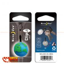 Брелок для авто Nite Ize ClipLit - Green Earth/White LED