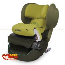 Кресло Cybex Juno 2-Fix Graffiti Green