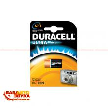 Элемент питания DURACELL Ultra Photo 123