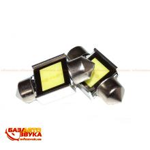 LED лампа iDial 458 Festoon COB Source 31 9chip 1W 6000K 12V (2шт.)
