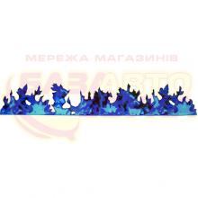 Наклейка на авто Vip Sticker Fire Blue