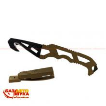 Нескладной нож Gerber Crisis Hook Knife TAN499, блистер 30-000590