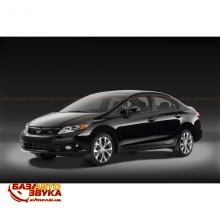 Дефлекторы капота NOVLINE HONDA CIVIC Sd EXP.NLD.SHOCIVS1212