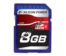 Флеш память Silicon Power SDHC 8Gb