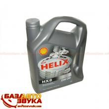 Моторное масло SHELL Helix HX8 Synthetic 5W-30 4л