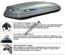 Грузовой бокс THULE  Pacific 500 silver TH-6315S