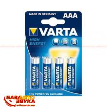 Элемент питания VARTA High Energy LR3/AAA (4 шт.)