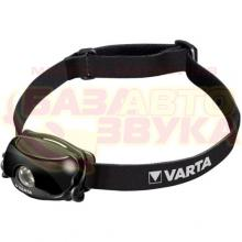 Фонарь VARTA Professional Line 1 Watt LED Sports Head Light 2AAA 18632