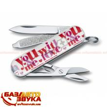 Мультитул Victorinox Classic SD 0.6223.L1108 Loving You