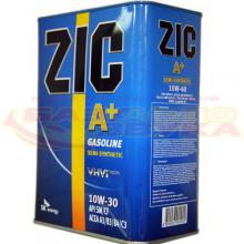Моторное масло ZIC A+ 10W-30, 4л