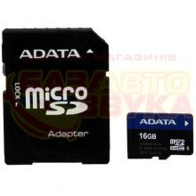 Флеш память A-Data microSDHC 16GB UHS-I Class 10 with adapter