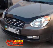 Дефлекторы капота EGR HYUNDAI ACCENT 2006+ SG3529DS