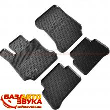 Резиновые коврики в салон GledRing MERCEDES-BENZ E-Class W212 2009->2013-> (mod.) (G) 4 pcs+fixing GR 0322