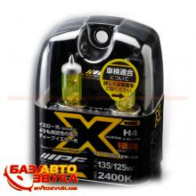 Галогенная лампа IPF XY43 H4 12V 60/55W Super J Beam Deep Yellow (2шт.)