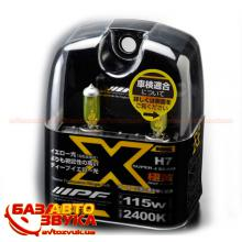 Галогенная лампа IPF XY73 H7 12V 55W Super J Beam Deep Yellow (2шт.)