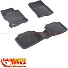 3D коврики в салон 3DMats LHD0480-PP-GR HONDA-Accord 9  Sedan(2013) PP Gray