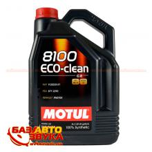 Моторное масло MOTUL 8100 Eco-clean 5w-30 841551 5л