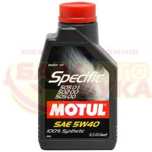 Моторное масло MOTUL Specific VW 505.01-502.00-505.00 5W-40 1л
