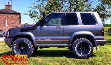 Шноркель Safari Snorkels SS200HF Isuzu Trooper 92-97 TURBO DIESEL
