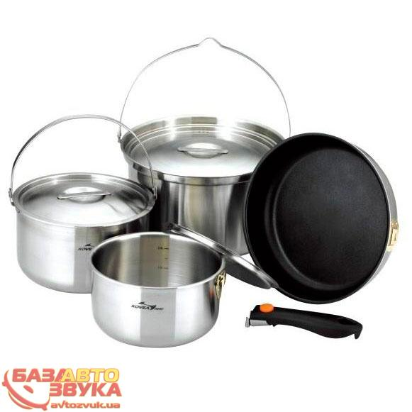 Набор посуды Kovea All-3PLY Stainles Cookware(7-8) KKW-CW1105: отзывы, характеристики и фото