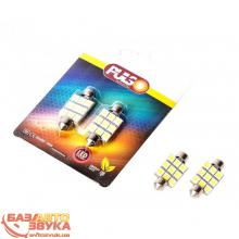 LED лампа PULSO LP-85369 (LED SV8.5/8/T11x36mm/9 SMD-5050/12v/White) (1шт.)