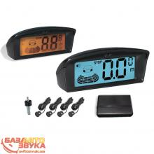 Парктроник Tiger TG-P4L-LCD black
