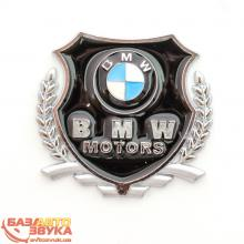 Наклейка на авто Vip Sticker BMW silver