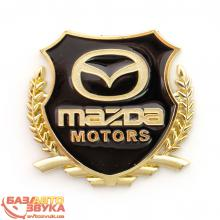 Наклейка на авто Vip Sticker Mazda gold