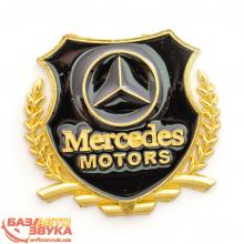 Наклейка на авто Vip Sticker Mercedes gold