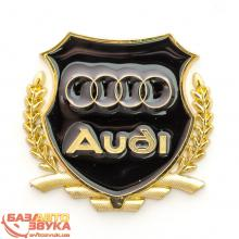 Наклейка на авто Vip Sticker Audi gold