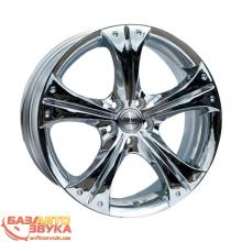 Диски RACING WHEELS H-253 Chrome rw258 (R17 W7 PCD5x100 ET45 DIA73,1)