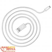 Интерфейс JUST Copper Micro USB Cable 2M Silver MCR-CPR2-SLVR
