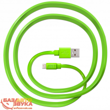 Адаптер JUST Freedom Lightning USB (MFI) Cable Green LGTNG-FRDM-GRN