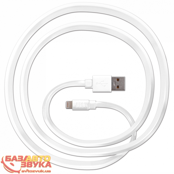 iPhone/iPod/iPad адаптер JUST Freedom Lightning USB (MFI) Cable White LGTNG-FRDM-WHT: отзывы, характеристики и фото