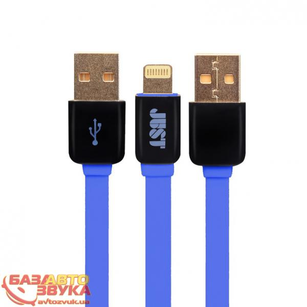 iPhone/iPod/iPad адаптер JUST Rainbow Lightning USB Cable Blue LGTNG-RNBW-BL: отзывы, характеристики и фото
