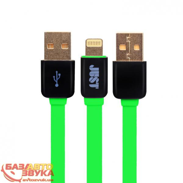 iPhone/iPod/iPad адаптер JUST Rainbow Lightning USB Cable Green LGTNG-RNBW-GRN: отзывы, характеристики и фото