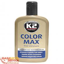 Полироль K2 COLOR MAX K020 black 200мл