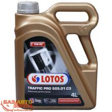 Моторное масло LOTOS TRAFFIC PRO 505.01 C3 SAE 5W30 4L