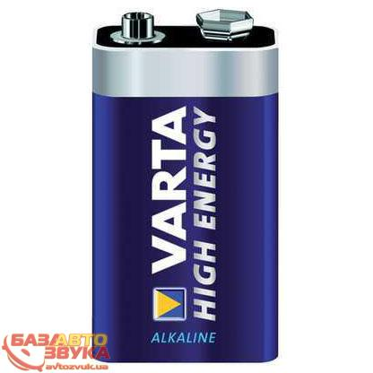 Крона VARTA High Energy 6LR61 9V (1шт.)