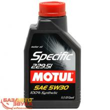 Моторное масло MOTUL SPECIFIC 229.51 SAE 5W30 1L (842611)