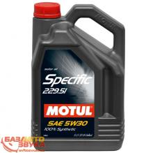 Моторное масло MOTUL SPECIFIC 229.51 SAE 5W30 5L (842651)