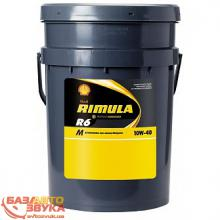 Моторное масло SHELL Rimula R6M 10w-40 20л
