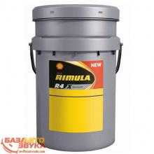 Моторное масло SHELL Rimula R4 X 15w-40 20л