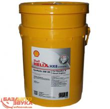 Моторное масло SHELL Helix HX8 Synthetic 5W-30 20л