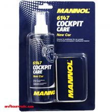 Полироль пластика MANNOL Cockpit Care новая машина 6147 250мл